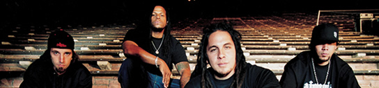 P.O.D. JOINS THE INO/COLUMBIA RECORDS ROSTER
